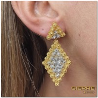 E0348 Rhombus earrings max