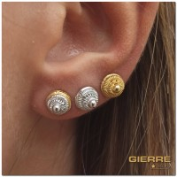 E3108 Micro ball earrings