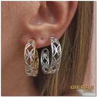 E3123 Liberty hoop earring